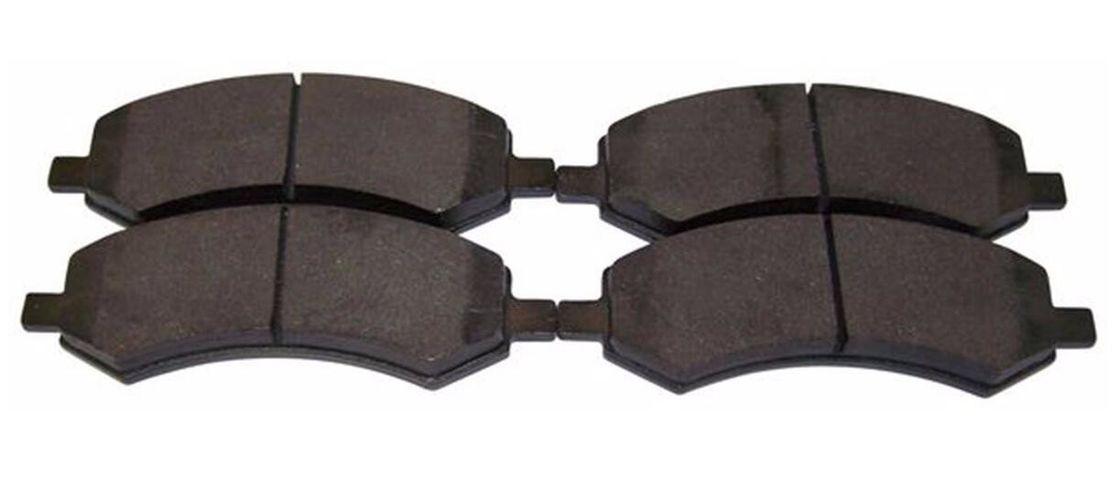 High Performance Auto Brake Parts / Front Brake Pads Replacement Ceramic Material